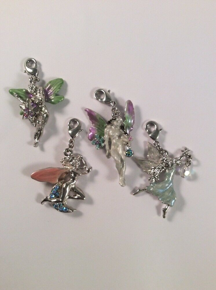 Kirks Folly NWOT Set Of 4 Fairy Charms