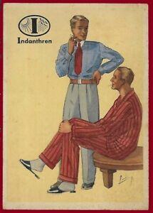 German Third Reich  Advertising postcard Men's Fashion 1940