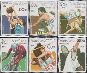 Laos-1193-1198-kompl-Ausg-postfrisch-1990-Olympische-Sommerspiele-92