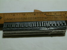 60 Point Engravers Old English Atf148 Lowercase Sorts Only Letterpress Type