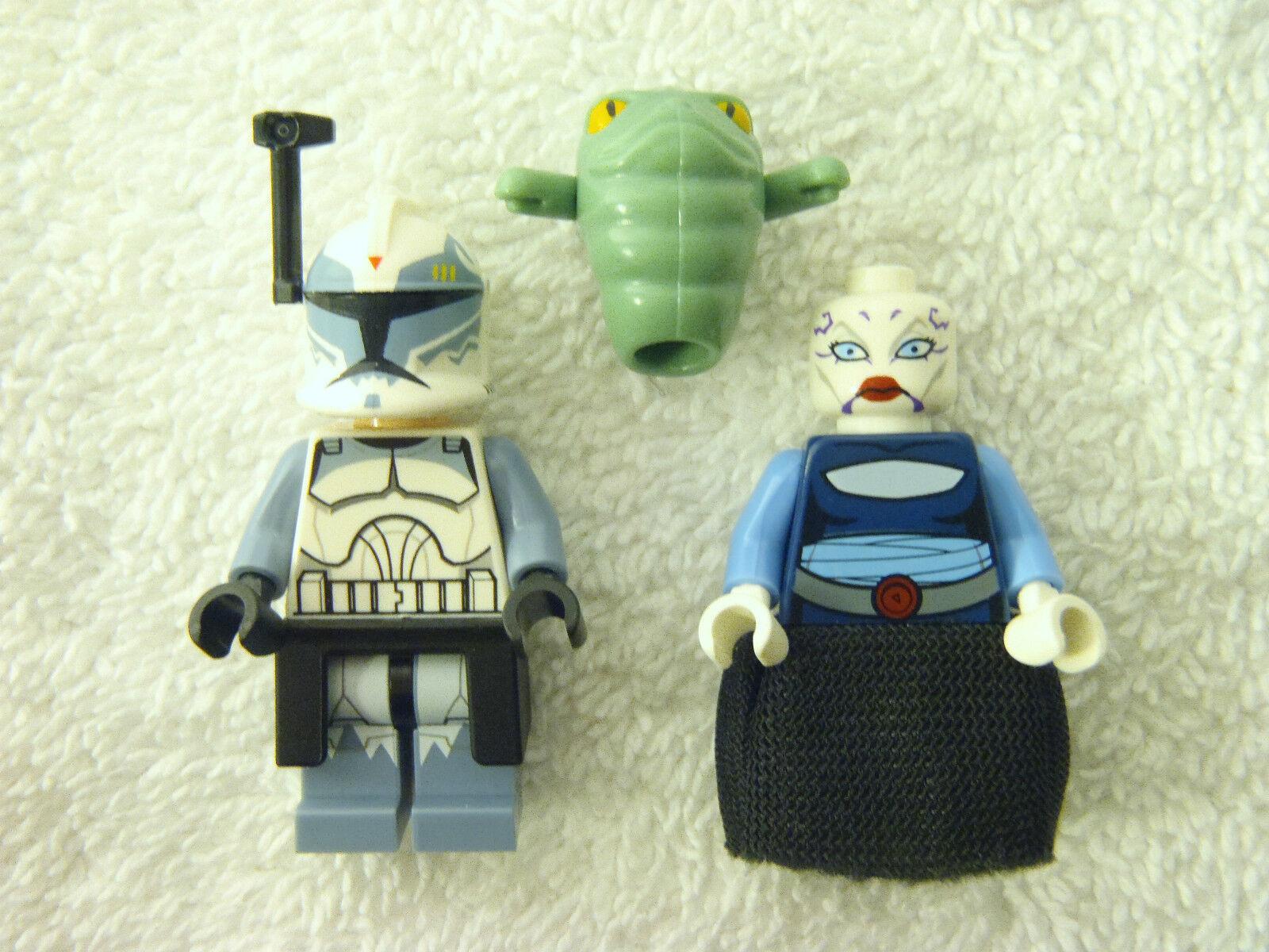 LEGO - Lot - Star Wars-Clone Wars- Rotta/ Wolffe/ Ventress