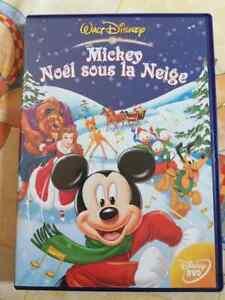 DVD-Film-dessin-anime-Mickey-noel-sous-la-neige-Walt-Disney