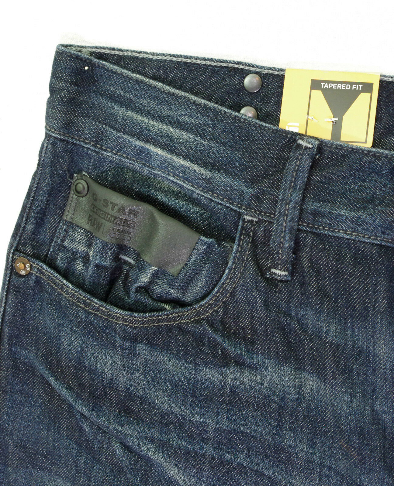 G STAR RAW jeans homme Blades Tapered dark aged comfort