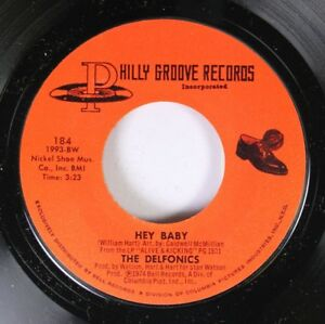 Soul-Unplayed-Nm-45-The-Delfonics-Hey-Baby-Lying-To-Myself-On-Philly-Groove
