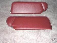 1983-93 mustang convertible  new sun visors canyon  red