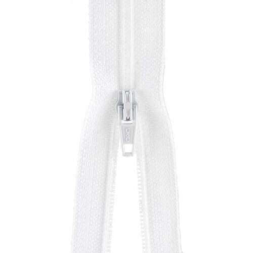 """Plastic Robe Zipper 36/"""" White 073650842122"""