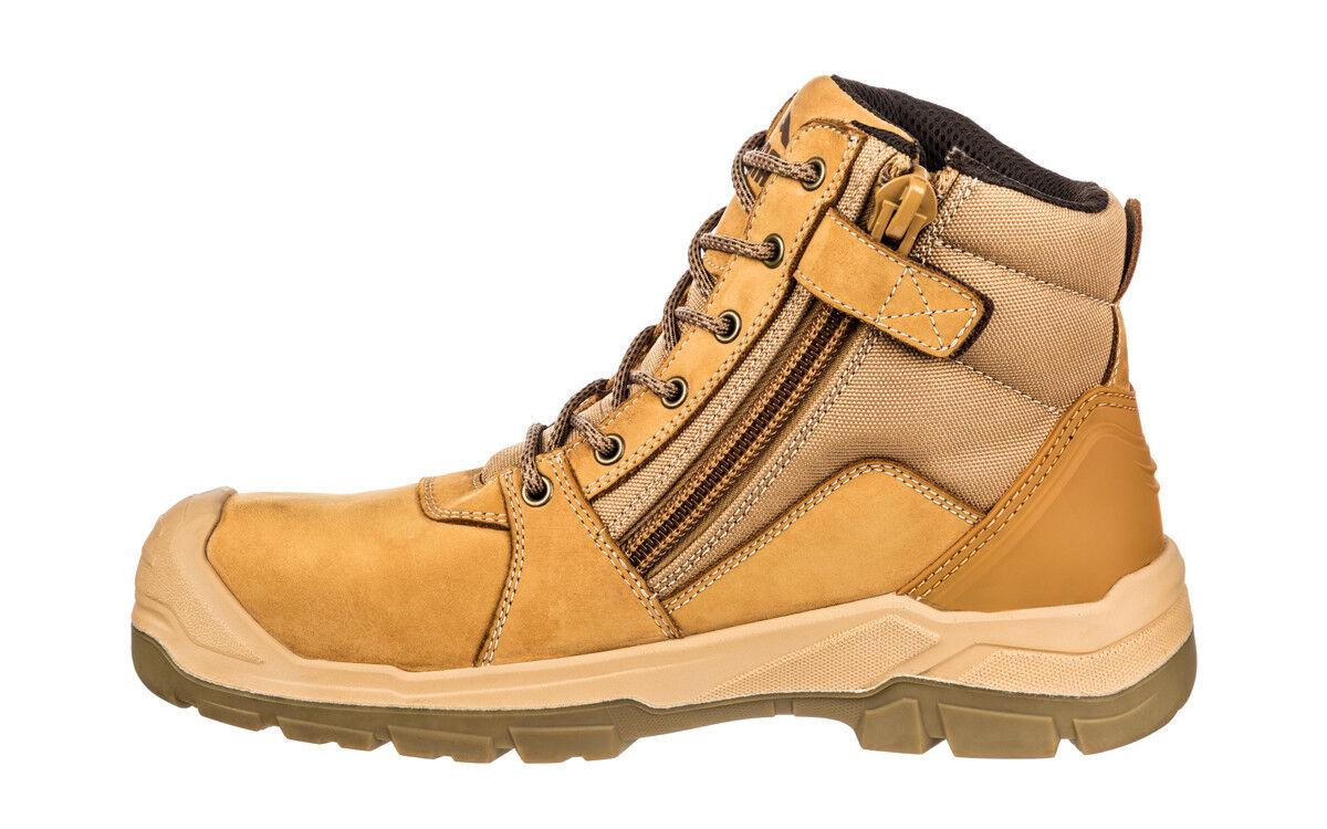 Puma Tornado WHEAT Boot. 630787 Safety Work Boot. WHEAT Zip Side. Scuff cap. Nubuck Comfort 2eabb8