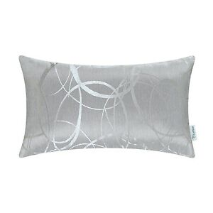 CaliTime-Throw-Pillows-Shells-Cushion-Covers-Modern-Circles-Rings-Sofa-12-x-20-034
