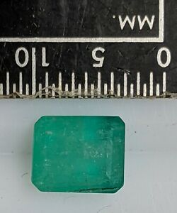 1-55-Carat-7x5-85mm-Nice-EMERALD-Gemstone-L4601