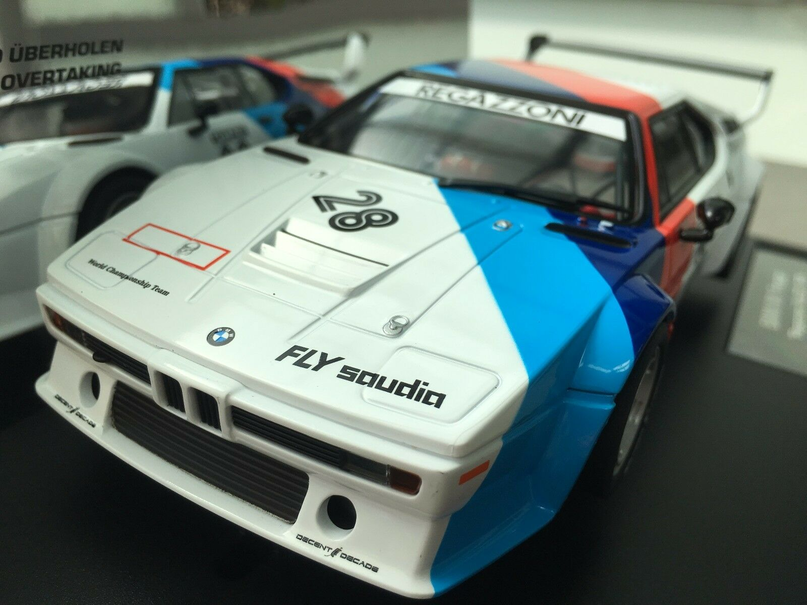 Carrera Digital 124 23820 BMW M1 Procar   Regazzoni No.28  , 1979 New Box