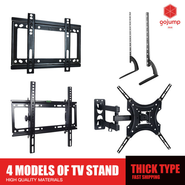 TV Wall Mount Bracket Fixed/Tilt/Tilt & Swivel Full Motion Tilt VESA LCD LED AU