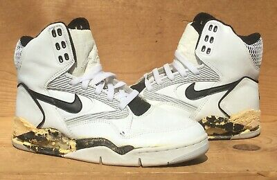 Vintage 1991 Nike Air Force V NOT WEARABLE Mismatch? Sole Swap Size 9.5 | eBay