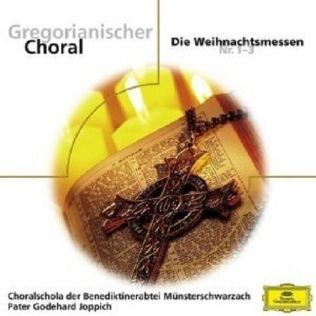 JOPPICH/CHORALSCHOLA DER BENEDIKTINERABTEI - GREGORIANISCHER CHORAL  CD NEU