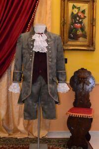Abito-Storico-Costume-di-Scena-Abito-d-039-Epoca-Costume-Storico-Stile-1700-cod-931