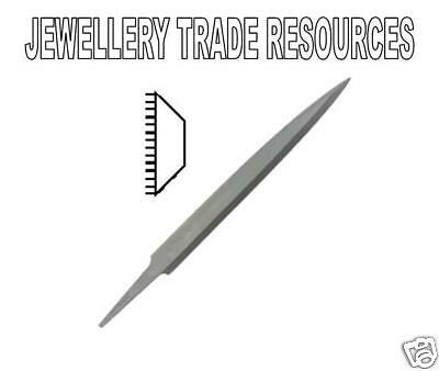 Jewellers Swiss Made 150mm Safety Back File Cut 4