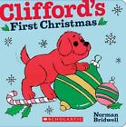 Clifford: Clifford's First Christmas by Norman Bridwell (2010, Board Book)