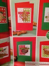 6 X Sweet Treats Christmas Cards Cross Stitch Chart