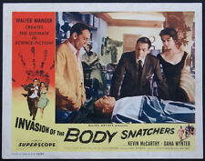 INVASION OF THE BODY SNATCHERS KEVIN McCARTHY CLONE SCENE 1956 LOBBY CARD