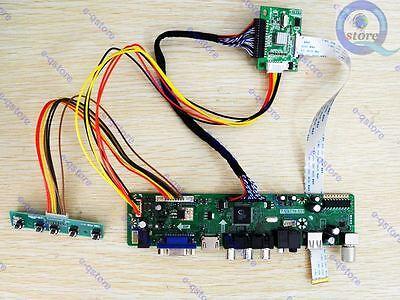 HDMI/AV/VGA/USB eDP LCD Converter Driver Controller Board Kit for LP140WHU TP A1
