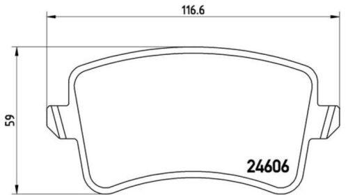 Brembo Sport Bremsscheiben 300mm Bremsbeläge hinten für Audi A4 B8 Q5 8R A5 8T