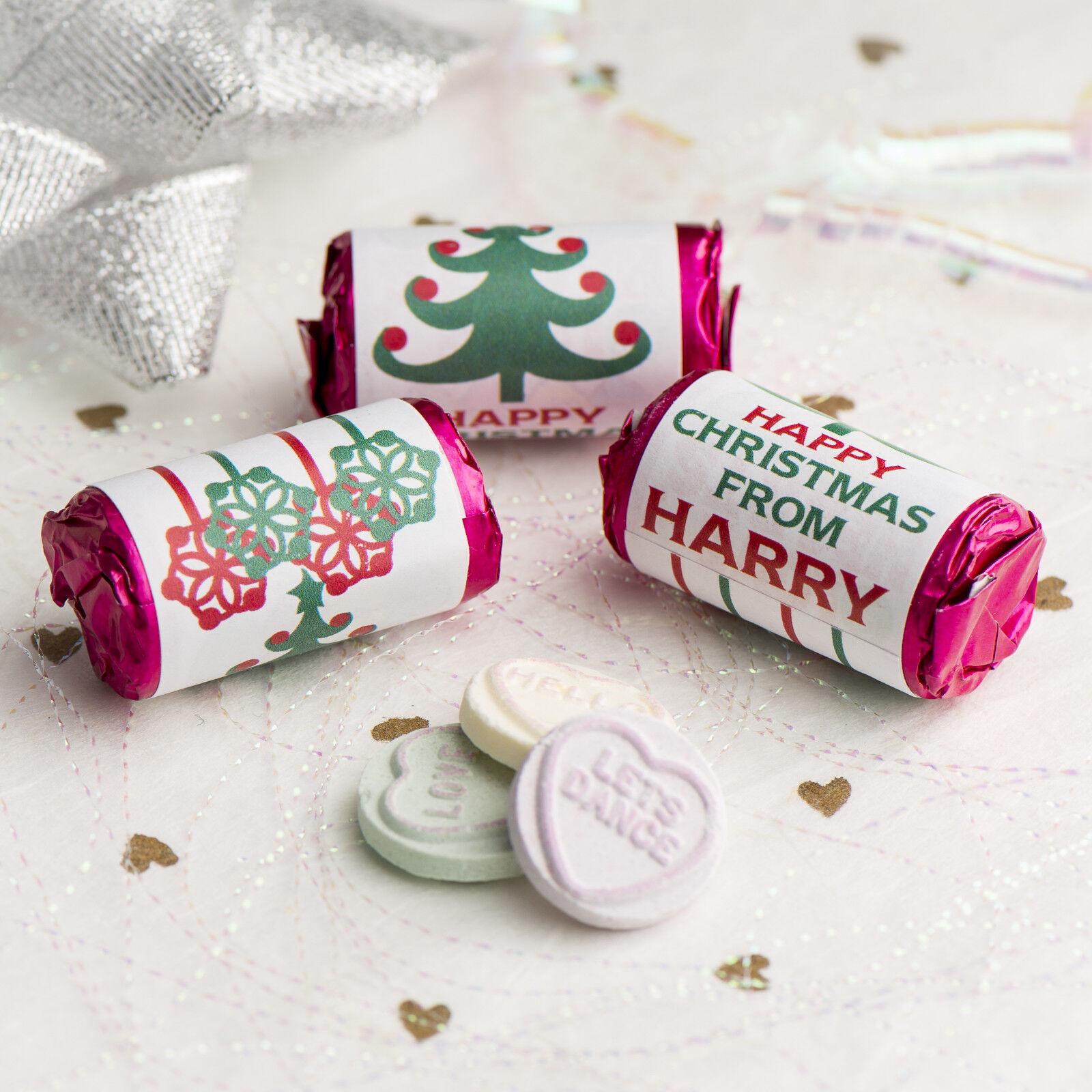MINI personalizzato Amore Amore Amore Cuori rossooli   Dolci Festa Di Natale Borsa regalo Favore 5d2a54