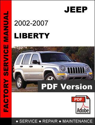 jeep liberty kj 2002 2003 2004 2005 2006 2007 repair service rh ebay com jeep liberty 2002 manual jeep liberty sport 2002 owners manual