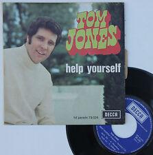 """Vinyle 45T Tom Jones """"Help yourself"""""""