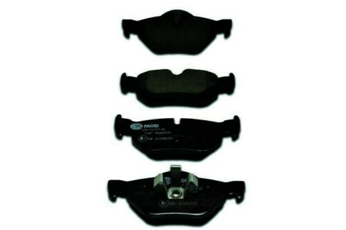 OE Formulated Friction Material Rear Hella-PAGID Disc Brake Pad Set-OEM