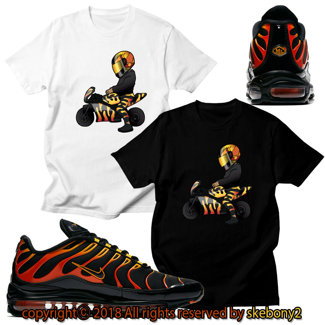 CAMISETA PERSONALIZADA a juego NIKE BRINGS BACK COLORWAY AIR MAX 97 Plus AM97 1-1-7