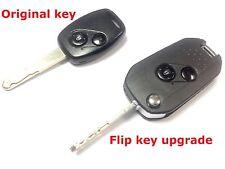 Flip upgrade service for Honda Civic Accord Jazz remote key fob