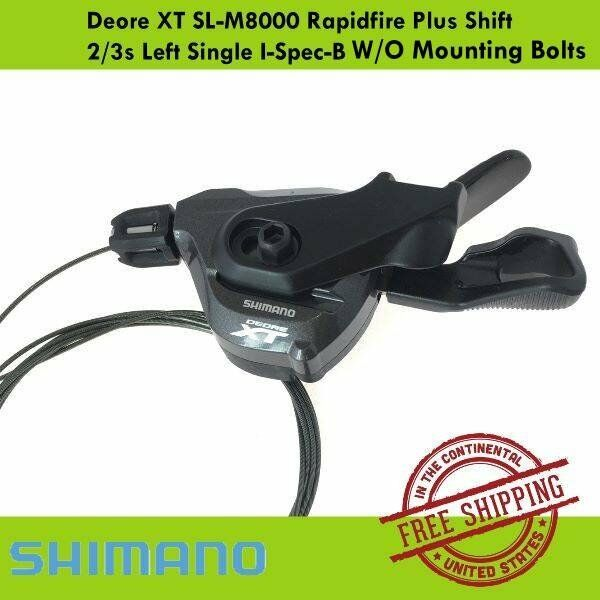 Shimano XT SL-M8000 Left Front Shifter Clamp-On  2//3 Speed /& Cable 11 Speed