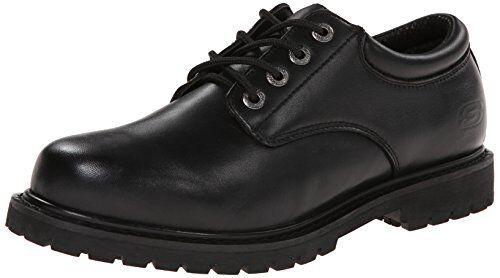 Skechers for Work Mens Plain shoes- Pick SZ color.