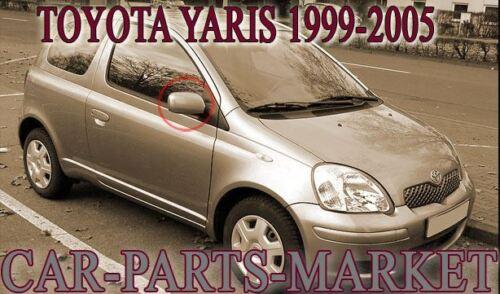 Para Toyota Yaris 1999-2005 Lado Derecho Puerta Ala Plana Espejo Controlador De Vidrio BP
