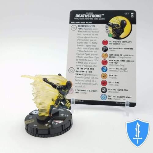 057 DC Rebirth HeroClix Miniature Super Rare Deathstroke