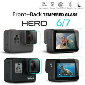For-Gopro-Hero-7-6-Camera-Accessories-Lens-amp-Screen-Protector-Protective-Film-9H