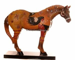 DISC. 2004 TRAIL OF PAINTED PONIES 3RD EDITION GHOST HORSE FIGURINE FREE SHIP