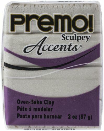 Sculpey Premo Accents Polymer Clay 2oz U Pick