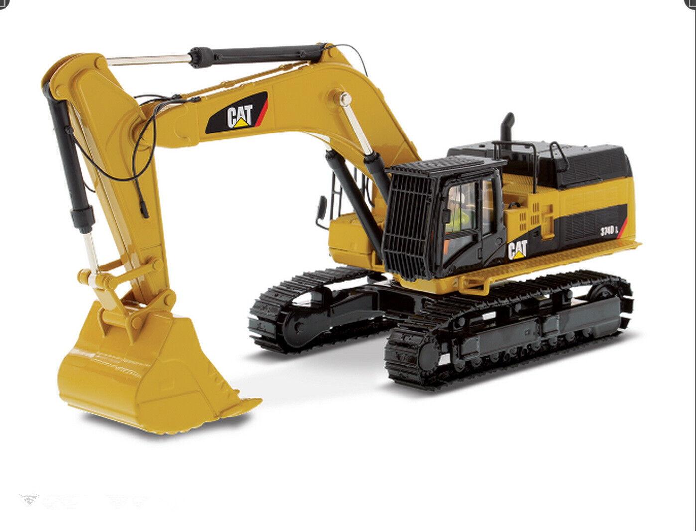 1 50 DM Caterpillar Cat 374D L Hydraulic Excavator Diecast Models  85274
