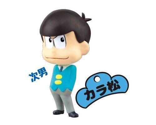 Key Chain Figure Osomatsu-san Karamatsu Choromatsu Ichimatsu Jyushimatsu