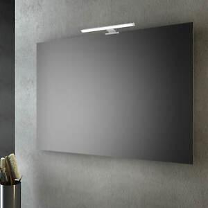 Specchio Luce Bagno.Specchio Da Bagno 120x80 Cm Con O Senza Lampada A Led Da 30 Ebay