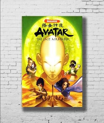 Avatar The Last Airbender Animated TV Series Art poster 18x24 24x36 27x40 T-44