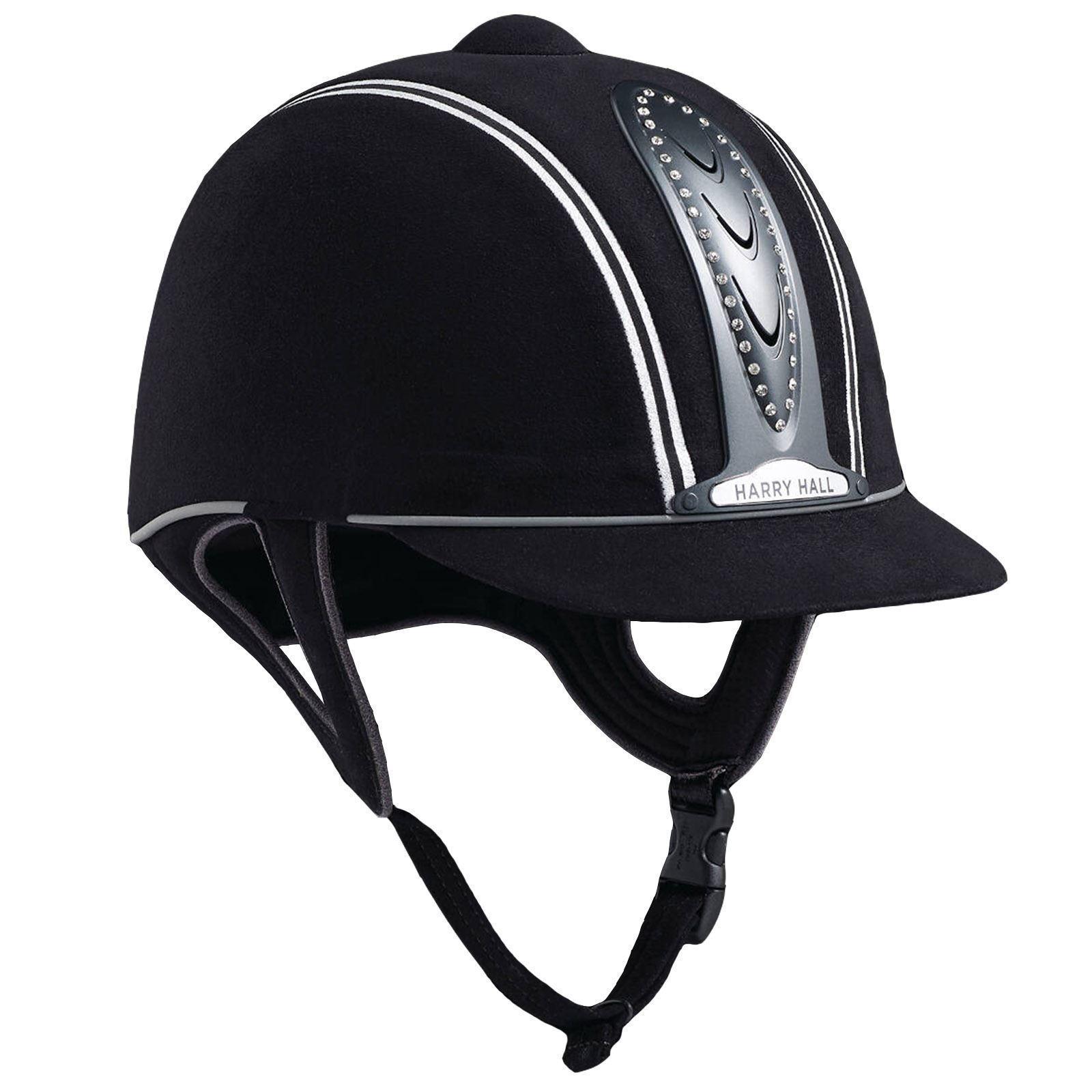 Harry Hall Legend Crystal Plus Junior Pas015 Lightweight Safety Horse Riding Hat