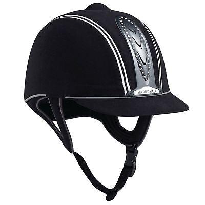 Harry Hall Legend Crystal Plus Junior Pas015 Sicurezza Leggero Equitazione Cappello- Styling Aggiornato
