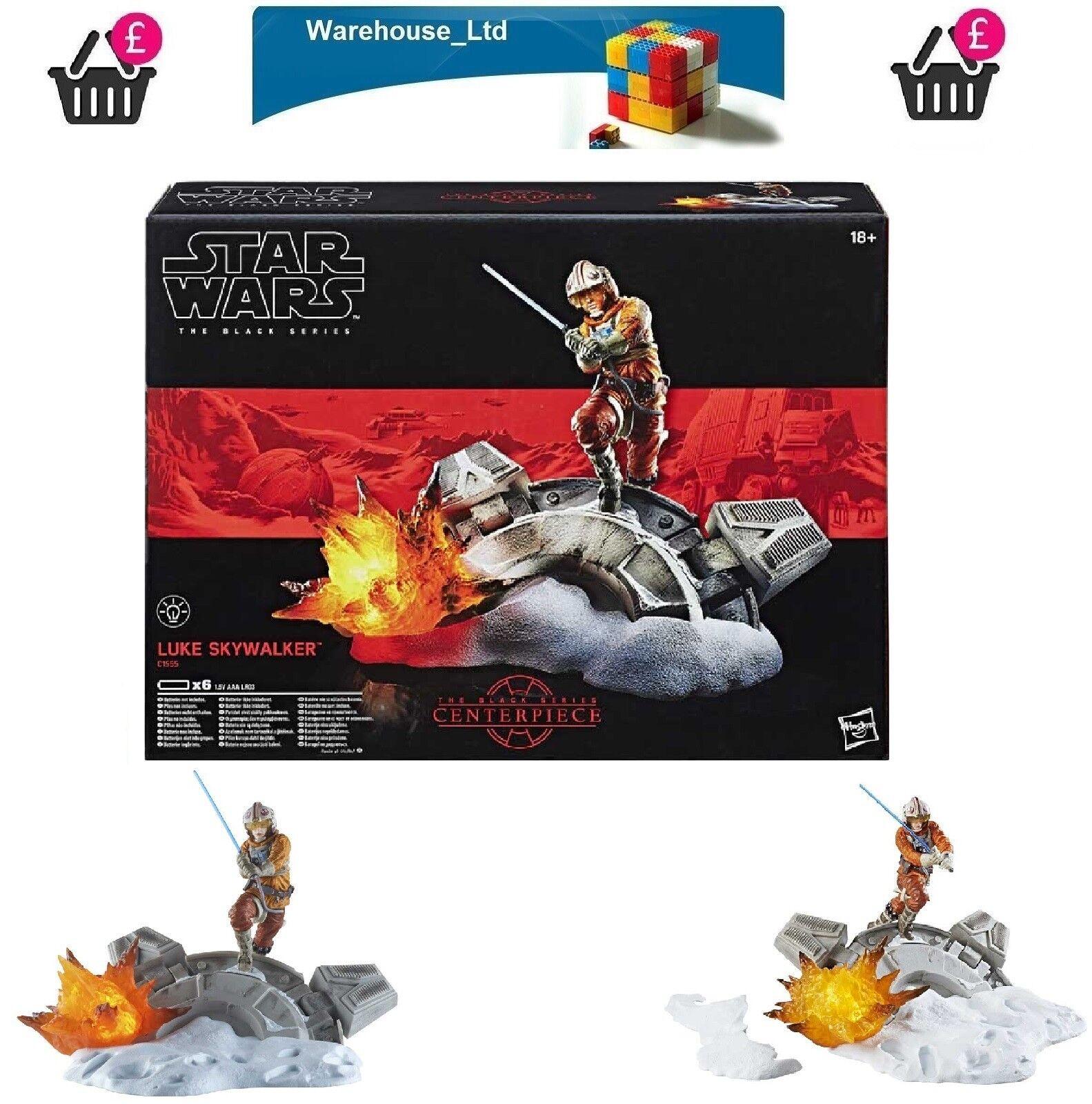 STAR Wars 6  NERO SERIE caratteristica principale Luke Skywalker NUOVO-veloce consegna cingolati