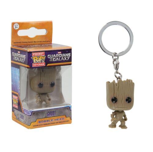 Groot Bobble-Head #6714 Funko Pocket Pop Keychain Guardians of the Galaxy