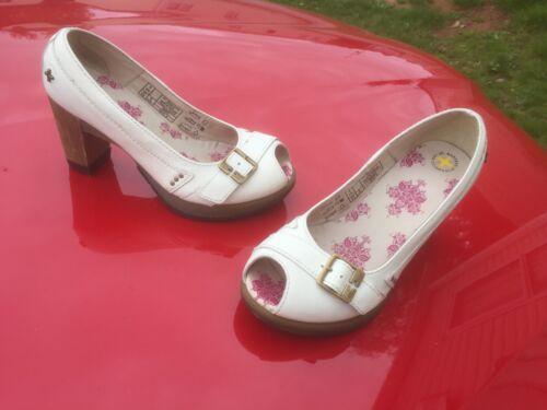 Martens Shoes Latoya Dr Uk High White Heels Eu 4 Peep Toe 37 TF7nqFrwd