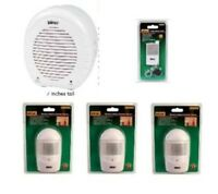 Homesafe Electronic Barking Dog Alarm W/ Remote & 3 Wireless Motion Sensors