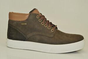 Details zu Timberland Dauset Chukka A1OKB Herren Boot Stiefel Schuh Leder braun