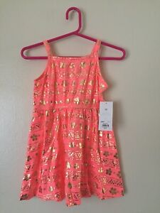Disney-Jumping-Beans-Limited-Edition-Moana-Dress-Toddler-2T-Brand-New-NWT