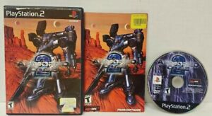 Armored Core 2  PS2 Playstation 2 Game Working Tested Complete